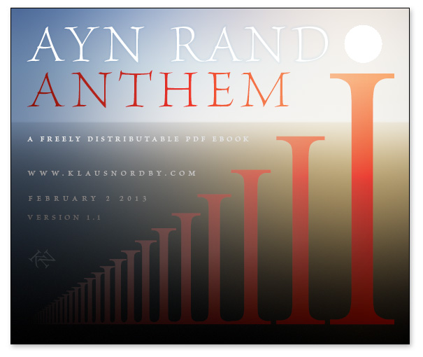 Free Pdf Ebook Of Ayn Rand S Anthem